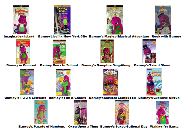 Image barney home video classics booklet 2000 page 2 for Classic house songs 2000