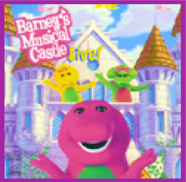 Barney And The Backyard Gang A Day At The Beach: Barney's Musical Castle Fake Soundtrack Album.png
