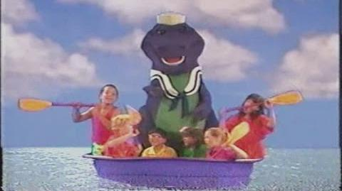 Video Barney The Backyard Gang A Day At The Beach 1989 Episode