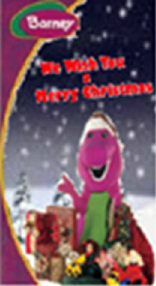 Image - Barney We Wish You a Merry Christmas VHS Cover.png | Custom ...