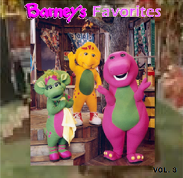 Barney And The Backyard Gang A Day At The Beach: Barney's Favorites Vol. 3 (battybarney2014's Version