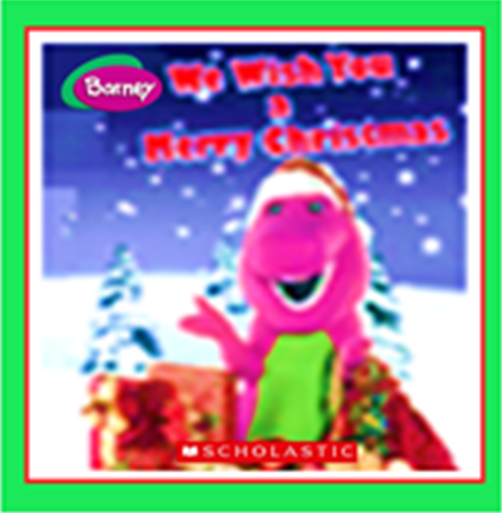 Barney And The Backyard Gang A Day At The Beach: We Wish You A Merry Christmas (book) (battybarney2014's