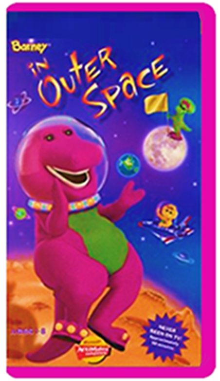 Image Barney In Outer Space Fake 2000 Vhs Reprintg Custom