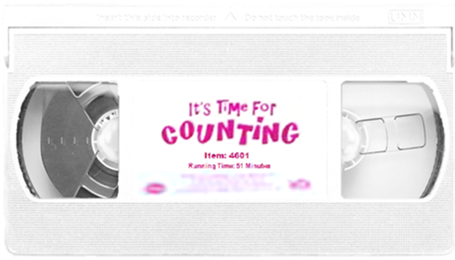 Trailers From Barney: It's Time For Counting 2001 VHS