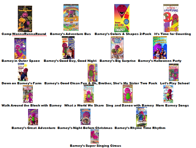 Image barney home video classics booklet 2000 page 3 for Classic house songs 2000