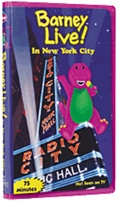 Barney Live! in New York City 2000 VHS Copy