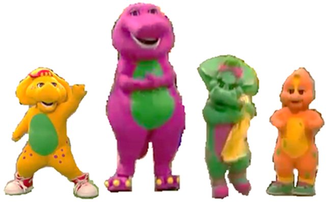 image barney baby bop bj and riff costumes for season 11 u k