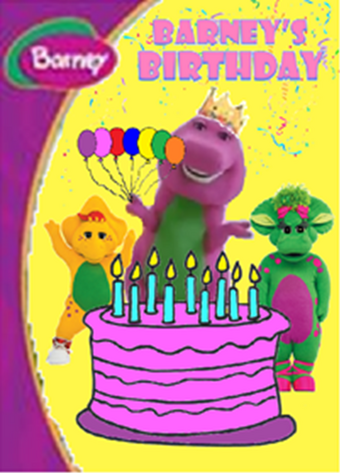 Remarkable Barneys Birthday 2005 Home Video Battybarney2014S Version Personalised Birthday Cards Cominlily Jamesorg