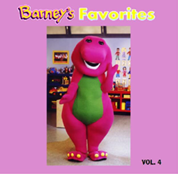 Barney's Favorites Vol. 4 (battybarney2014's Version