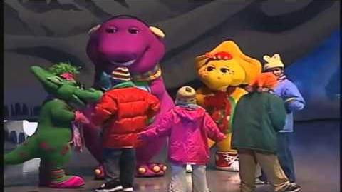 Video Barney S Colorful World 0 Custom Time Warner
