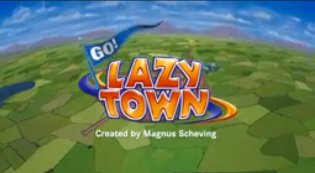 image lazytown title card png custom time warner cable kids wiki