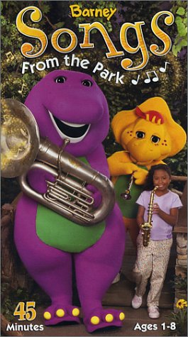 Trailers from Barney Songs from the Park 2003 VHS | Custom