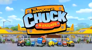 The Adventures of Chuck and Friends Title Card