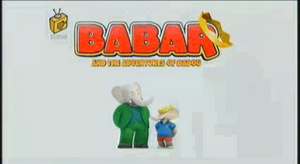 Babar and the Adventures of Badou Title Card