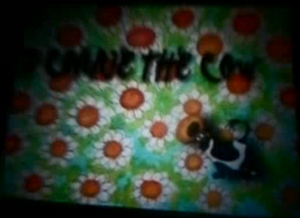 Connie the Cow Title Card
