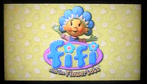 Fifi and the Flowertots Title Card