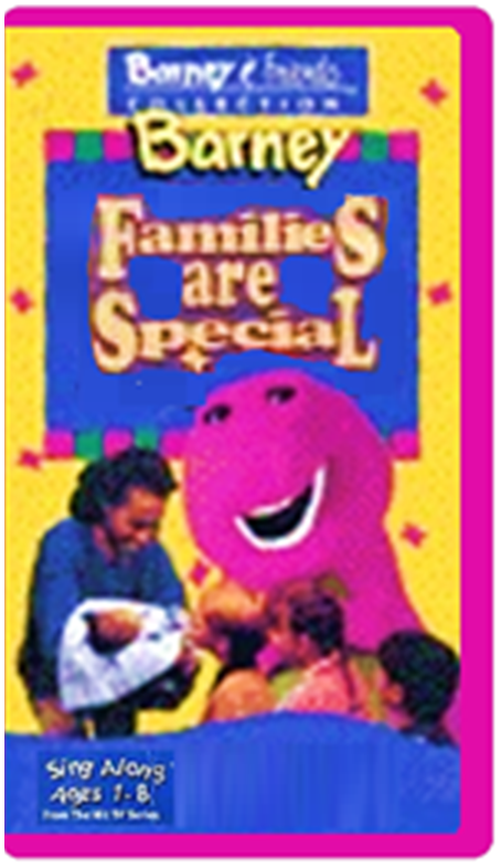 Trailers from Barney's Families are Special 2004 VHS | Custom Time