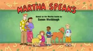 Martha Speaks Title Card
