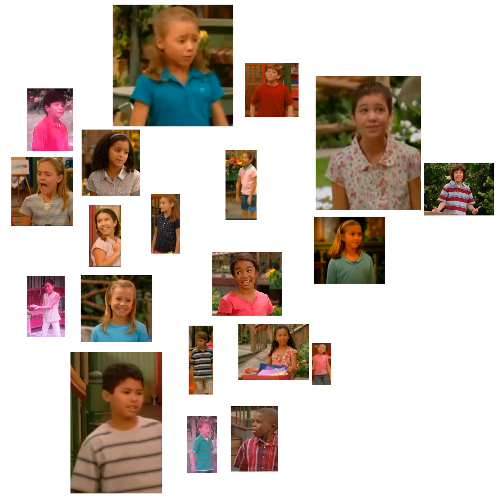 Barney And The Backyard Gang A Day At The Beach: Season 11 Cast Members Of Barney & Friends.png