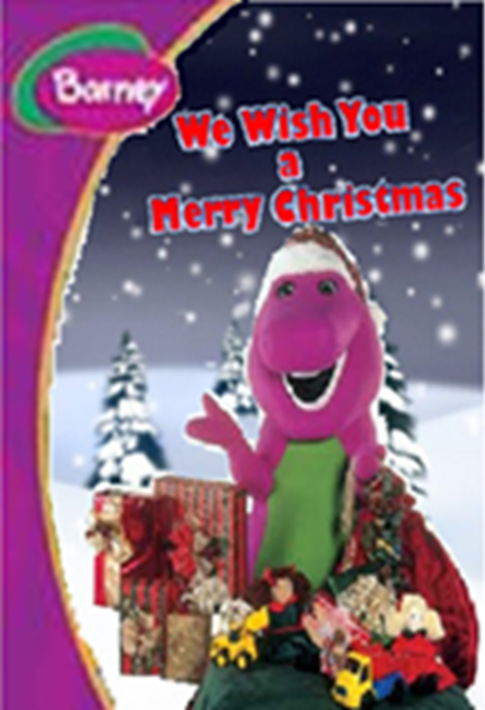 Barney A Very Merry Christmas The Movie Dvd.We Wish You A Merry Christmas Video Battybarney2014 S