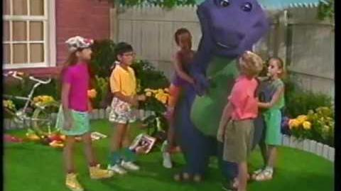 Video - Barney & the Backyard Gang Three Wishes (1989 ...