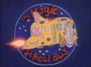 The Magic School Bus Title Card