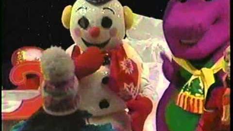 Video - Barney & the Backyard Gang Waiting for Santa (1990 ...