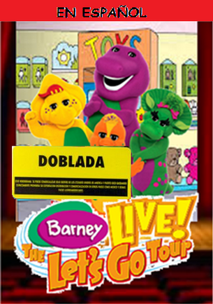 Barney Live! The Let's Go Tour Spanish DVD