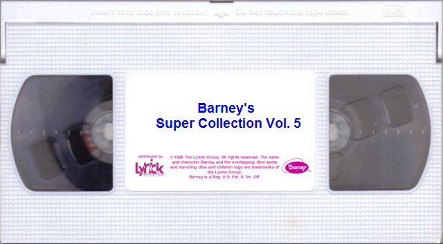 Opening And Closing To Barneys Super Collection Vol 5 1998 Vhs