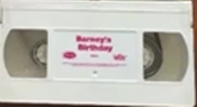 Opening And Closing To Barneys Birthday 2000 Vhs Custom Time