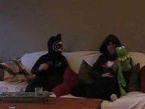 The ehh guy his brother the you guy and kermit