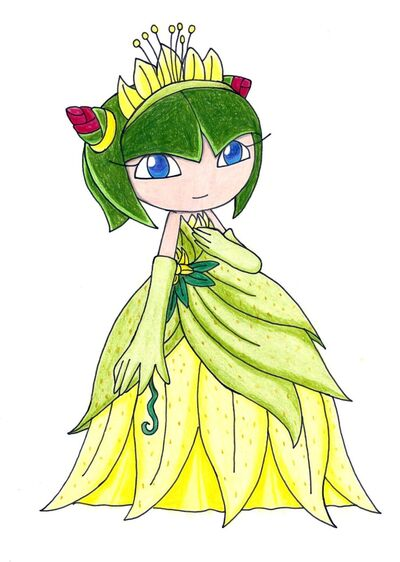 Cosmo The Princess and Frog by aprict