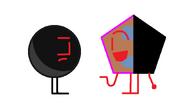 Black ball with Rjkwahworraps