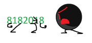 Black ball fighting with 8182018