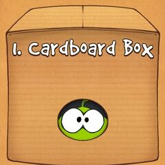 Om Nom in the Cardboard Box