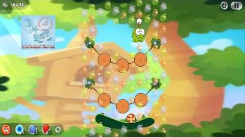Android - Cut The Rope 2 Level 8-14 Omnom