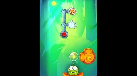 Cut The Rope: Experiments - Bamboo Chutes Level 8-4