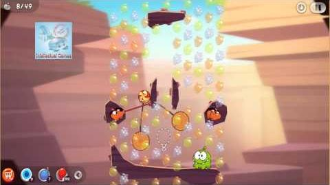 Android - Cut The Rope 2 Level 34-38 Omnom