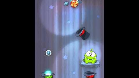 Cut the Rope 4-25 Walkthrough Magic Box