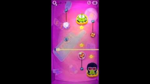 Cut The Rope Time Travel 7-1 Disco Era Walkthrough - 3 Stars