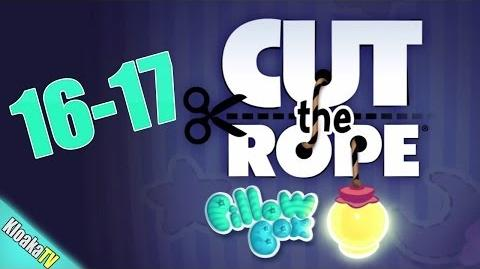 Cut The Rope 16-17 Pillow Box Walkthrough (3 Stars)