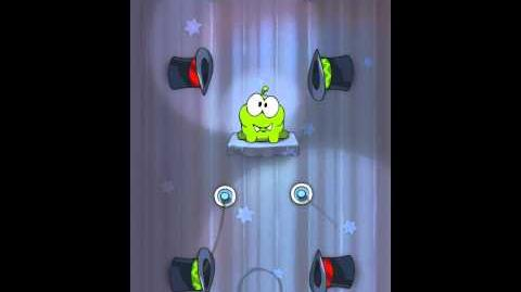 Cut the Rope 4-4 Walkthrough Magic Box