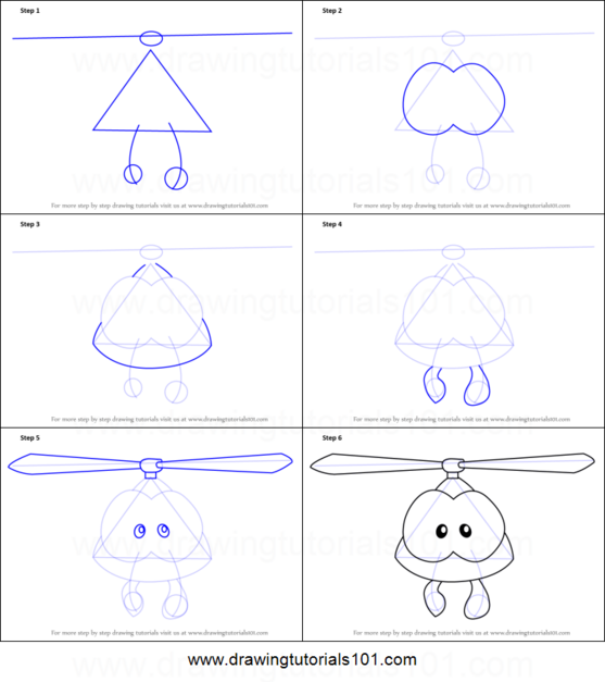 How-to-Draw-Roto-from-Cut-the-Rope-step-by-step