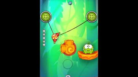 Cut The Rope: Experiments - Bamboo Chutes Level 8-20