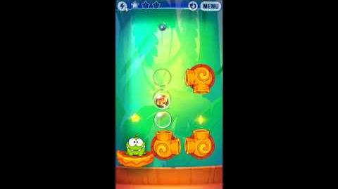 Cut The Rope: Experiments - Bamboo Chutes Level 8-12