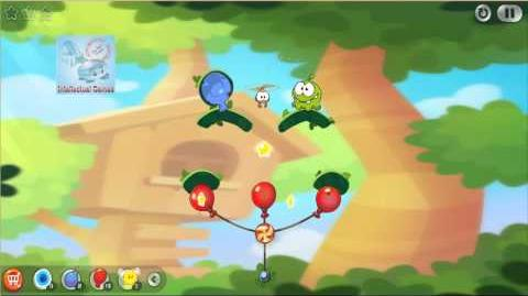 Android - Cut The Rope 2 Level 21-25 Omnom
