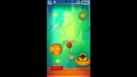 Cut The Rope: Experiments - Bamboo Chutes Level 8-11