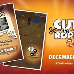 Cut the Rope 2 release date out!