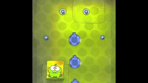 Cut the Rope 2-23 Walkthrough Fabric Box