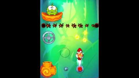 Cut The Rope: Experiments - Bamboo Chutes Level 8-23